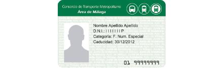 Tarjeta Consorcio Transportes